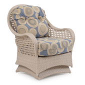 6706 Outdoor Spring Chair ( Sand White Finish)