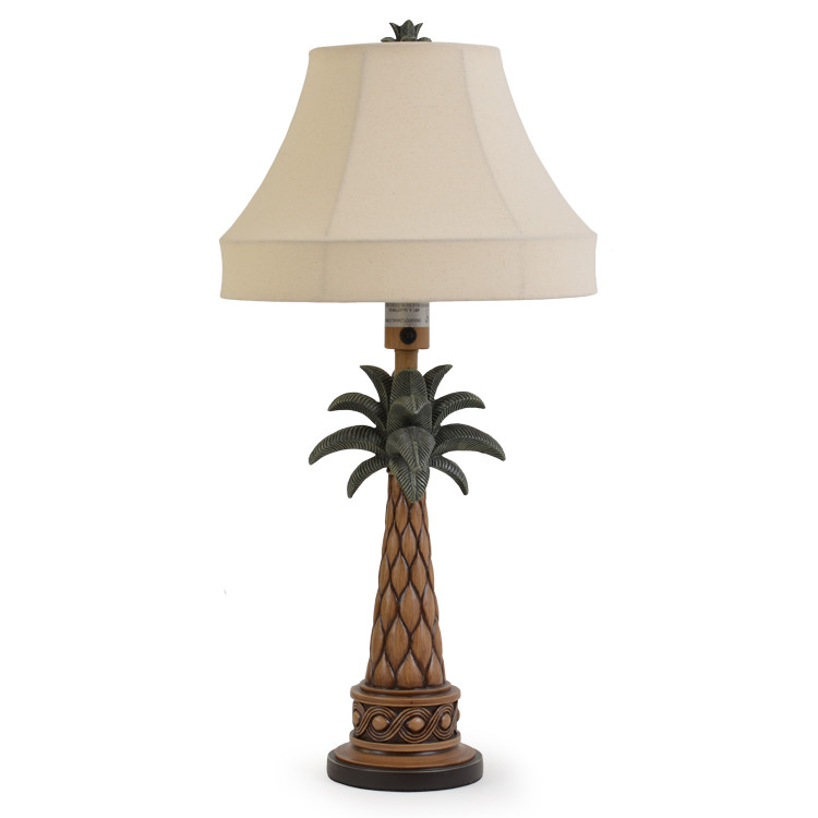 palm tree table lamp. Black Bedroom Furniture Sets. Home Design Ideas