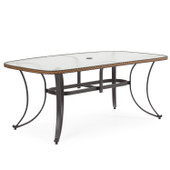 "327346 42"" x 73"" Boat Shaped Table"