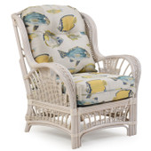 4405 Rattan High Back Chair