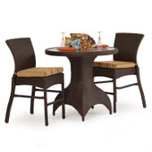 6000 Series All Weather Wicker 3pc Counter Set