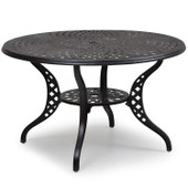 "7148 Cast Aluminum 48"" Dining Table"