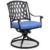 7131 Cast Aluminum Swivel Tilt Dining Chair.