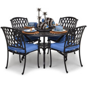7100 Series Cast Aluminum 5PC Dining Set