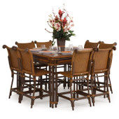 Outdoor 9 Piece Counter Set
