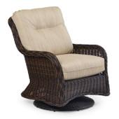 Outdoor Wicker Swivel Glider  Lounge Chair  4307