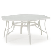 1452 Patio Dining Table White