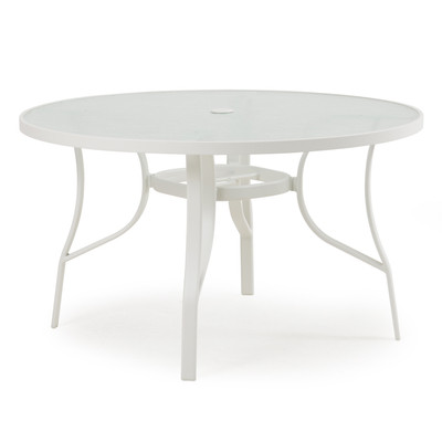1448 Patio Dining Table White