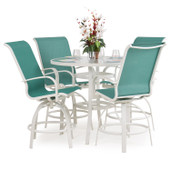 1400 Series Patio 5PC Bar Set Emerald