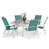 1400 Series 7PC Dining Set Avocado