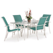 1400 Series 5PC Dining Set Bronze