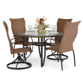 3200 Series 5 Piece High Back Dining Set Cork