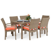 Stackable 7pc Patio Dining Set