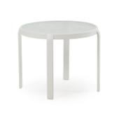 1420 Patio Table Textured White