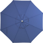 9' Blue Sky Olefin Market Umbrella