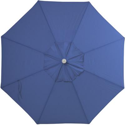 9' Blue Sky Olefin Market Umbrella