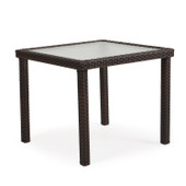 """Dining Table 34"""" Square Tortoise Shell 6634"""