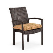 Stackable Patio Dining Chair Tortoise Shell 6610