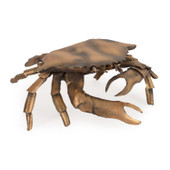 Metal Crab Small Goldtone Finish