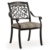 721730 Cast Aluminum Dining Chair.(alternate view)