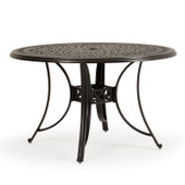 721700 Outdoor Cast Aluminum Round Dining Table