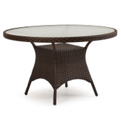 """6048 48"""" Round Table Tortoise Shell"""