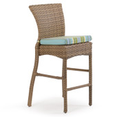 6145 Outdoor Counter Height Stool Oyster Grey