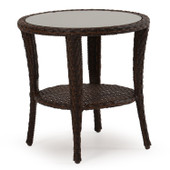 6020 Outdoor End Table Tortoise Shell