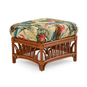 4409 Rectangle Ottoman Pecan Glaze Satin