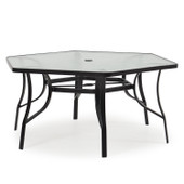 1452 Patio Dining Table White Bronze
