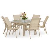 1400 Series Patio 7PC Dining Set Sand