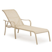 1409 Patio Chaise Lounge Sand