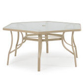 1742 Patio Dining Table Pebble