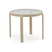 """Outdoor 20"""" Round Patio Tea Table Sand Finish 1420"""