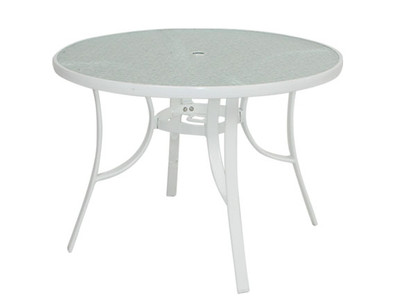 """1748 48"""" Round Table White"""