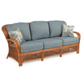 3503 Rattan and Wicker Sofa
