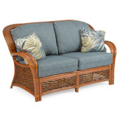 3502 Wicker and Rattan Loveseat