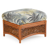 3509 Rattan Rectangle Ottoman