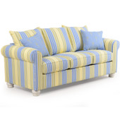 740Q Striped Queen Sleeper Sofa