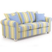 740Q Striped Queen Sleeper Sofa