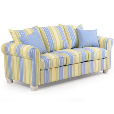 740S Striped Sofa