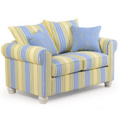 740L Striped Loveseat