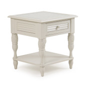8320 End Table Antique White