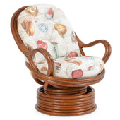 5541 Swivel Rocker Pecan Glaze