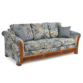 683Q Queen Sleeper Sofa Pecan Glaze