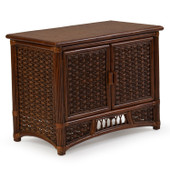 5474 Rattan and Wicker Buffet