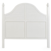 8907Q Headboard Queen in Ivory