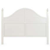 8607 King  Headboard in Ivory