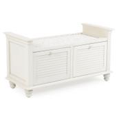 8998 Storage Bench Ivory