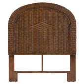 3707 Wicker Twin Headboard